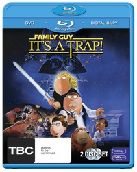 Family Guy: It's a Trap! Combo Pack with Bonus DVD (2 Disc Set) on DVD, Blu-ray