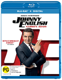 Johnny English Strikes Again on Blu-ray
