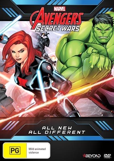 Avengers Secret Wars: All New All Different on DVD