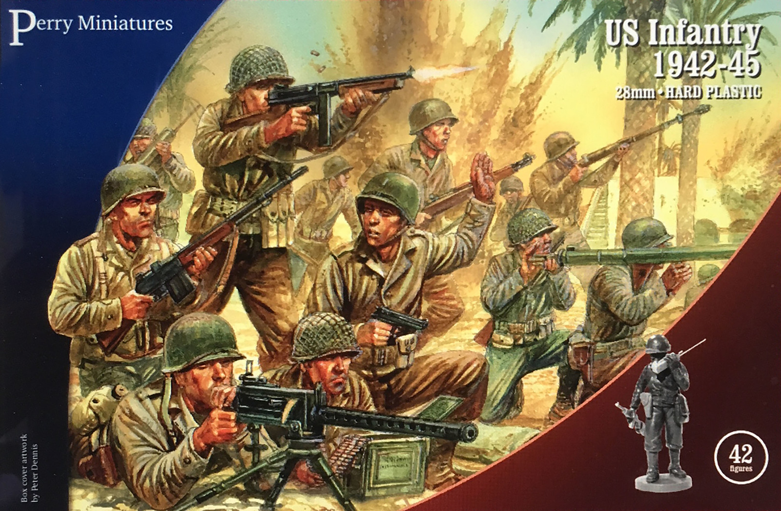 Perry Miniatures: US Infantry 1942-45 image