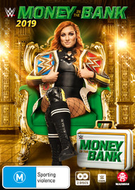 WWE: Money In The Bank 2019 on DVD