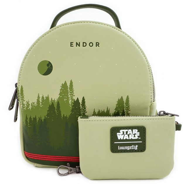Loungefly: Star Wars - Endor Limited Edition Mini Backpack with Pouch