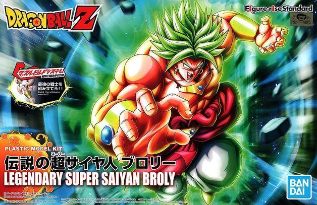 Dragon Ball: Figure-rise: Legendary SS Broly - Model Kit