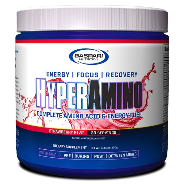 Gaspari: Hyper Amino - Strawberry Kiwi (30 Serve)