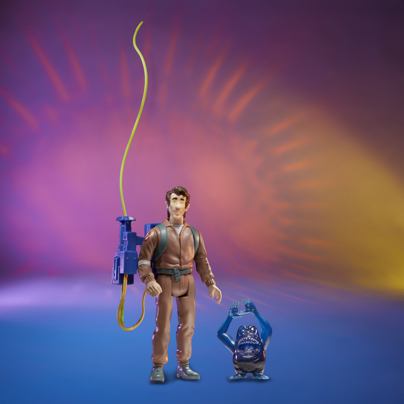 Ghostbusters: Kenner Classics - Peter Venkman and Grabber Ghost image