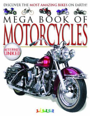 Mega Book of Motorcycles by Lynne Gibbs image