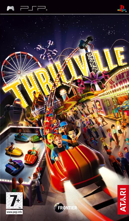 Thrillville for PSP image