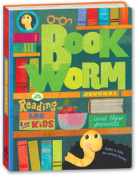 Bookworm Journal: A Reading Log for Kids by Potter Style