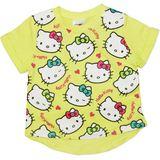 Hello Kitty Yellow T-Shirt (Size 6)
