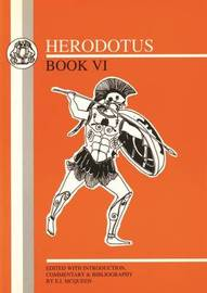 "A Commentary on Herodotus ""Book Six"" by E.I. McQueen image"