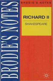 Shakespeare: Richard II by Norman T. Carrington image