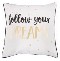 Metallic Monochrome Dreams Cushion image