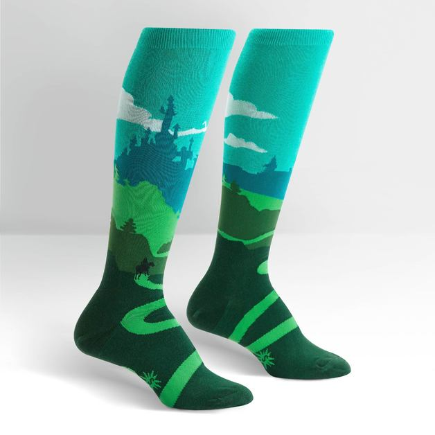 Women's - Yonder Castle Knee High Socks