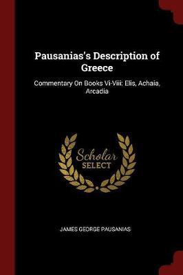 Pausanias's Description of Greece by James George Pausanias image