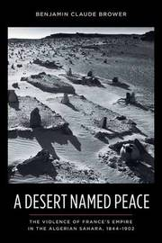 A Desert Named Peace by Benjamin C. Brower image