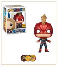 Captain Marvel - Pop! Vinyl Figure (with a chance for a Chase version!) image