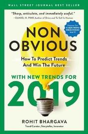 Non-Obvious 2019 by Rohit Bhargava