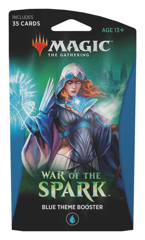 Magic The Gathering: War of the Spark Theme Booster- Blue