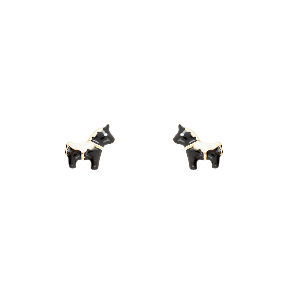 Short Story: Earring Unicorn Black image