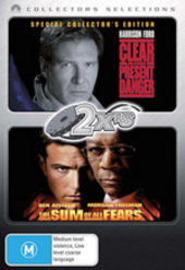 2x's Clear And Present Danger / Sum Of All Fears (Collector's Selections) (2 Disc Set) on DVD