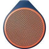 Logitech X100 Mobile Wireless Speaker (Blue/Orange)