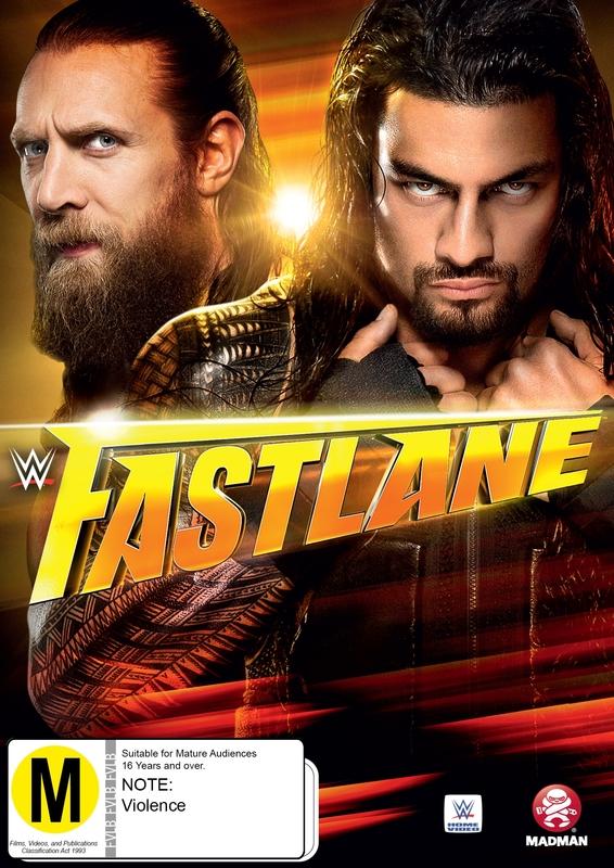 WWE - Fast Lane 2015 on DVD