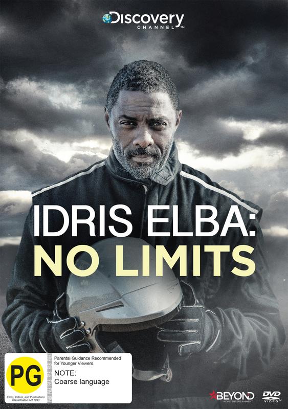 Idris Elba: No Limits on DVD
