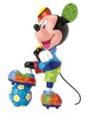 Romero Britto: Soccer Mickey - Medium Figure