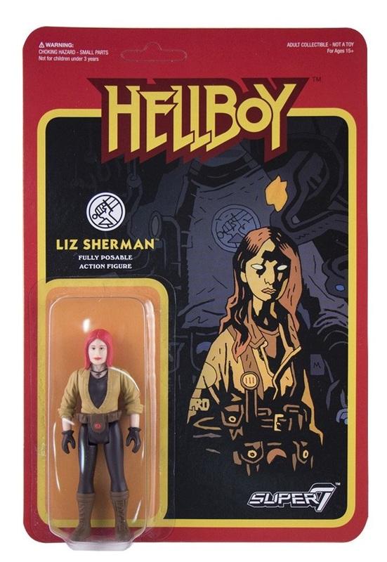 Hellboy - Liz Sherman Retro Action Figure