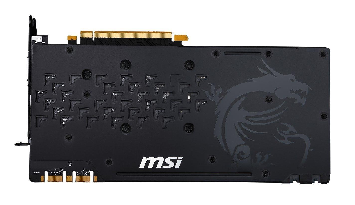 MSI GeForce GTX 1080 Gaming X 8GB Graphics Card image