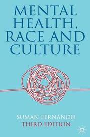 Mental Health, Race and Culture by Suman Fernando image