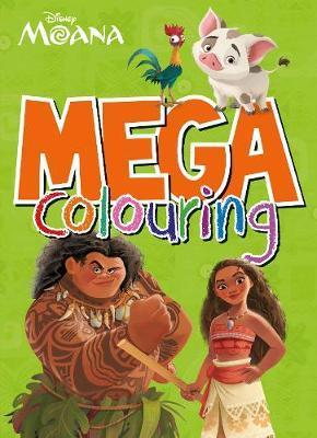 Disney Moana Mega Colouring by Parragon Books Ltd image
