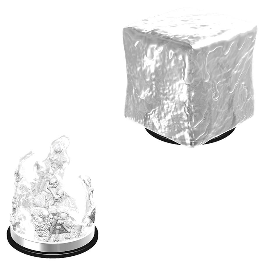 D&D Nolzurs Marvelous: Unpainted Miniatures - Gelatinous Cube image