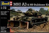 Revell M60 A3 with M9 Bulldozer 1:72 Model Kit