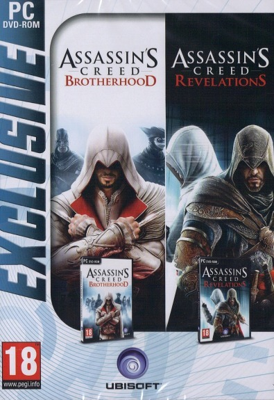 Assassin's Creed Brotherhood and Assassin's Creed Revelations Double Pack (That's Hot) for PC image