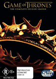 Game of Thrones - The Complete Second Season DVD