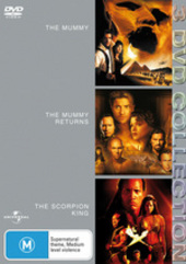 Mummy / Mummy Returns / Scorpion King - 3 DVD Collection (3 Disc Set) on DVD
