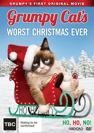 Grumpy Cat's Worst Christmas Ever on DVD