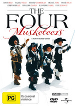 The Four Musketeers on DVD