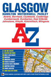 Glasgow Street Atlas by Geographers A-Z Map Company