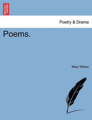 Poems  | Mary Wilson Book | In-Stock - Buy Now | at Mighty