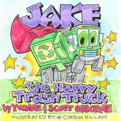 Jake the Happy Trash Truck by Yvonne Osborne image