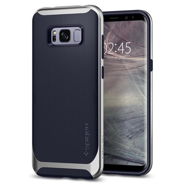 Spigen: Galaxy S8 - Neo Hybrid Case (Arctic Silver)
