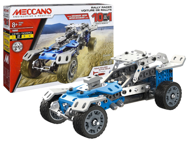 Meccano: 10-in-1 Rally Racer