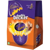 Cadbury Double Decker Large Easter Egg (287g)