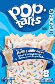Kellogg's Pop Tarts Frosted Vanilla Milkshake
