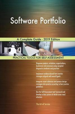 Software Portfolio A Complete Guide - 2019 Edition by Gerardus Blokdyk image