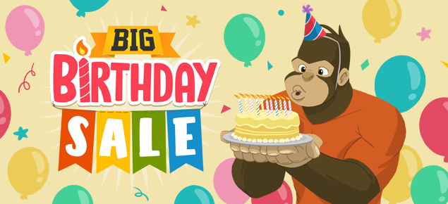 The BIG Birthday Sale