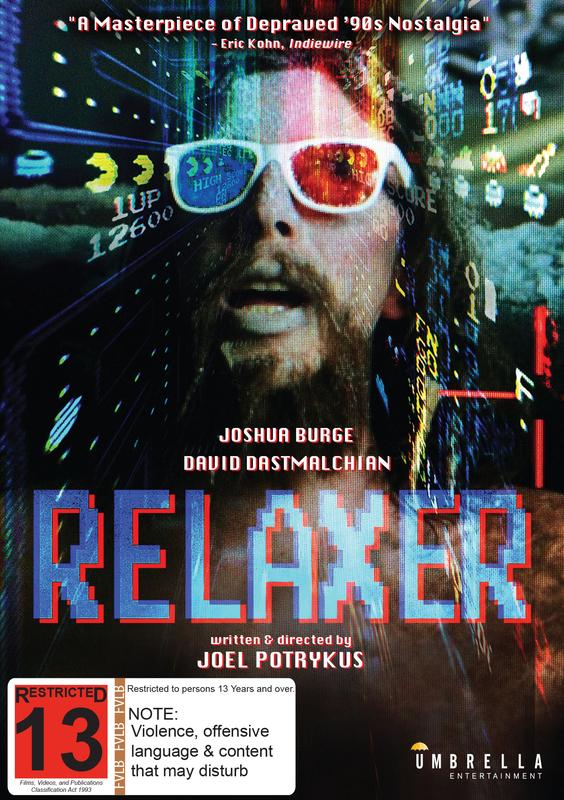 Relaxer on DVD