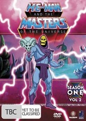 He-Man And The Masters Of The Universe - Season 1: Vol. 2 (6 Disc Box Set) on DVD